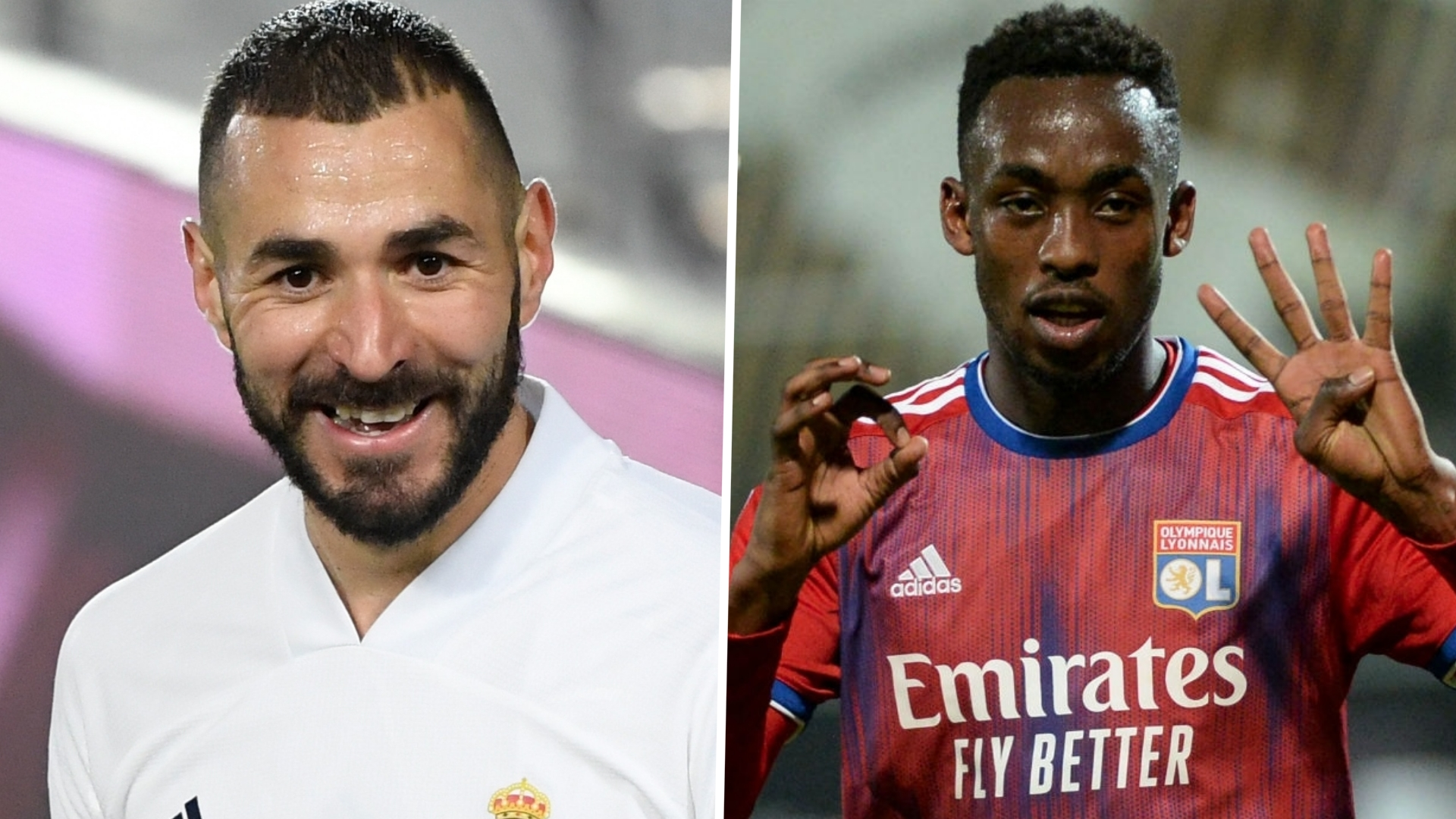 Kadewere: Playing with Benzema either at Real Madrid or Lyon would be 'a dream come true'