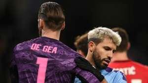 David de Gea Sergio Aguero Manchester United Manchester City 2019-20