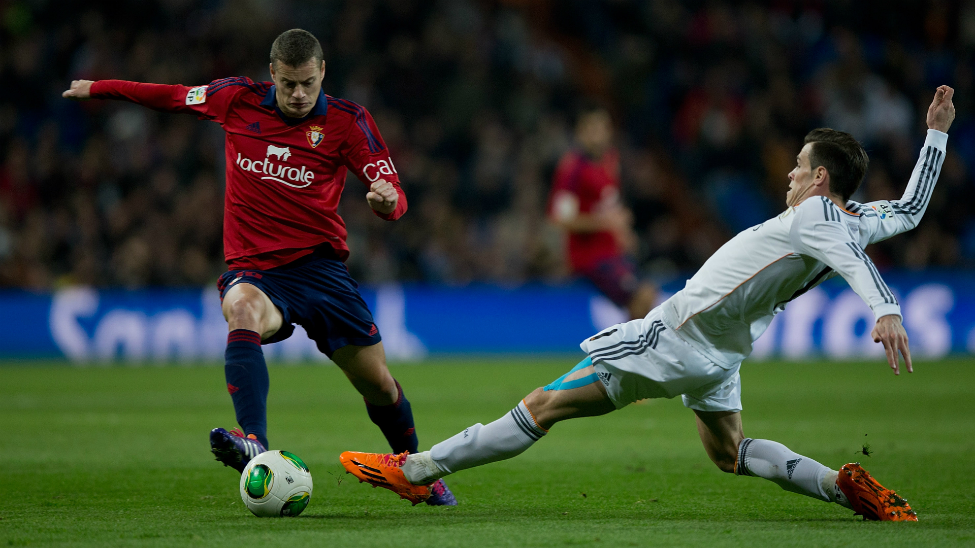 Oriol Riera - Gareth Bale