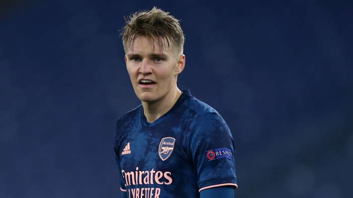 Odegaard Arsenal 2021