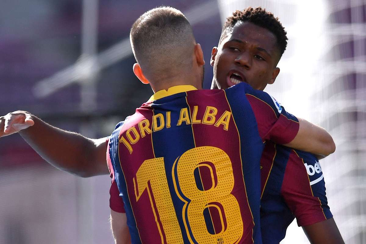 Ansu Fati becomes youngest Clasico scorer in 21st century to break Vinicius Jr's record | Goal.com