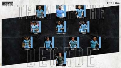 Man City Team of the Decade