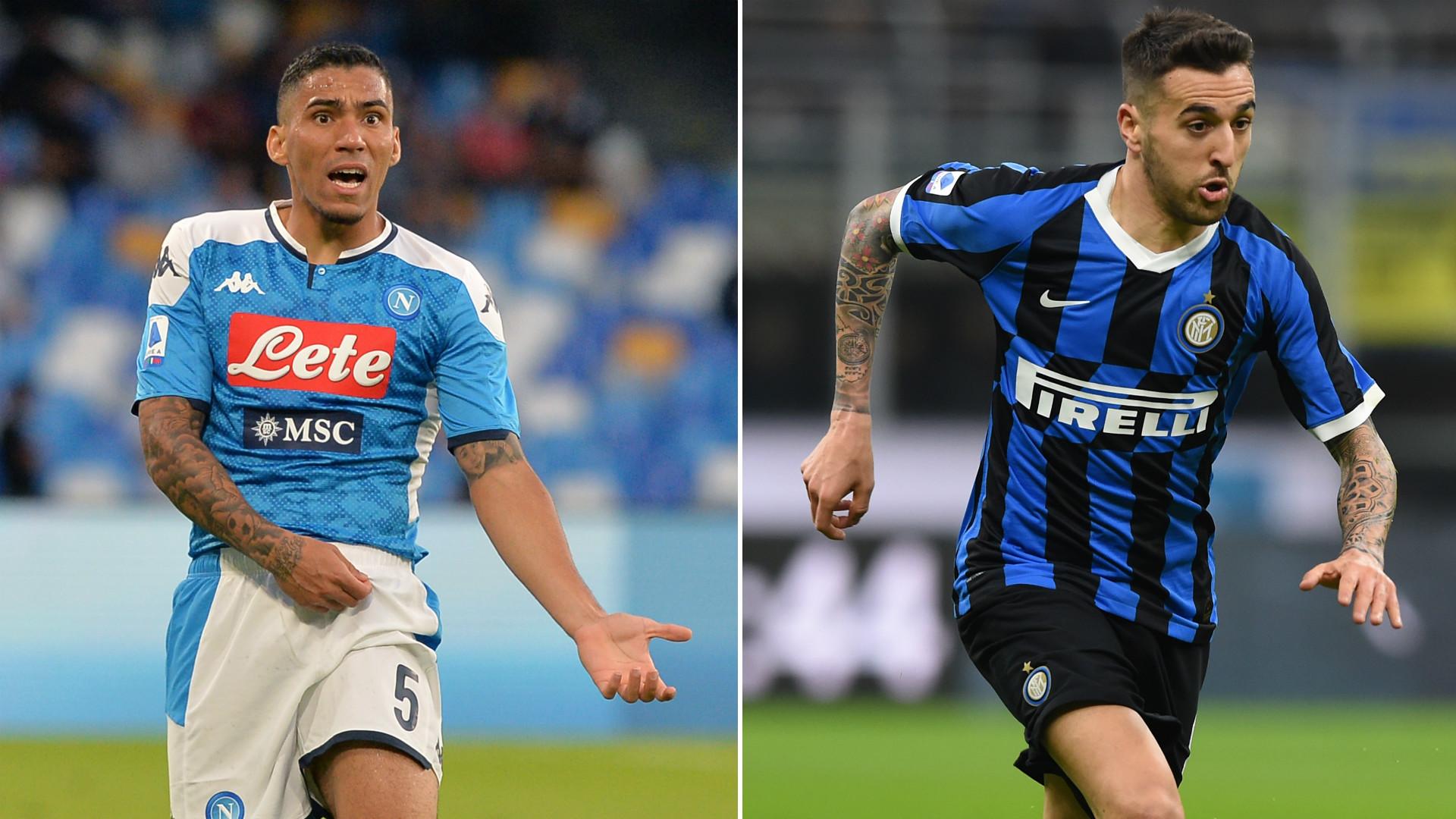 Perchè Napoli e Inter pensano allo scambio Allan-Vecino