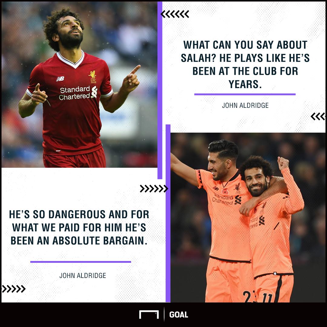 John Aldridge Mohamed Salah Liverpool absolute bargain