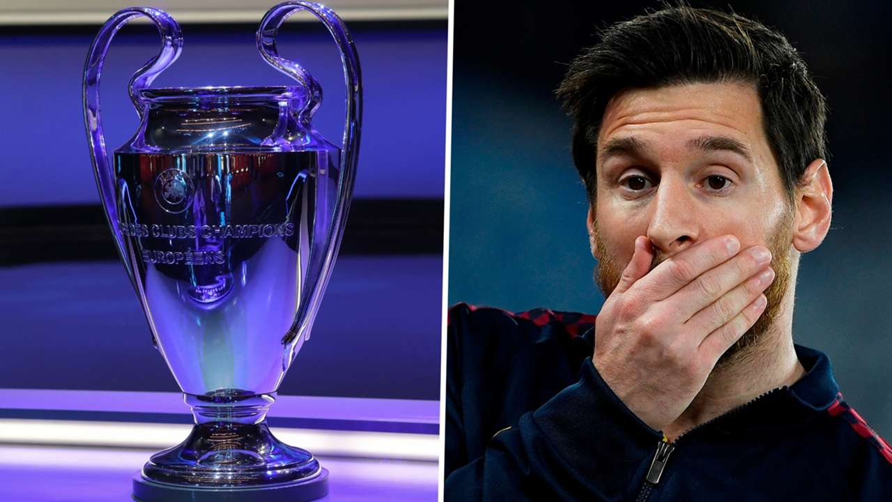 Champions League Messi 2019-20