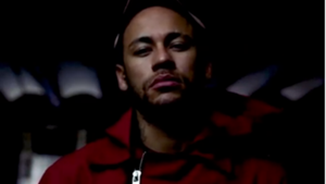 Neymar, vestido de La Casa de Papel
