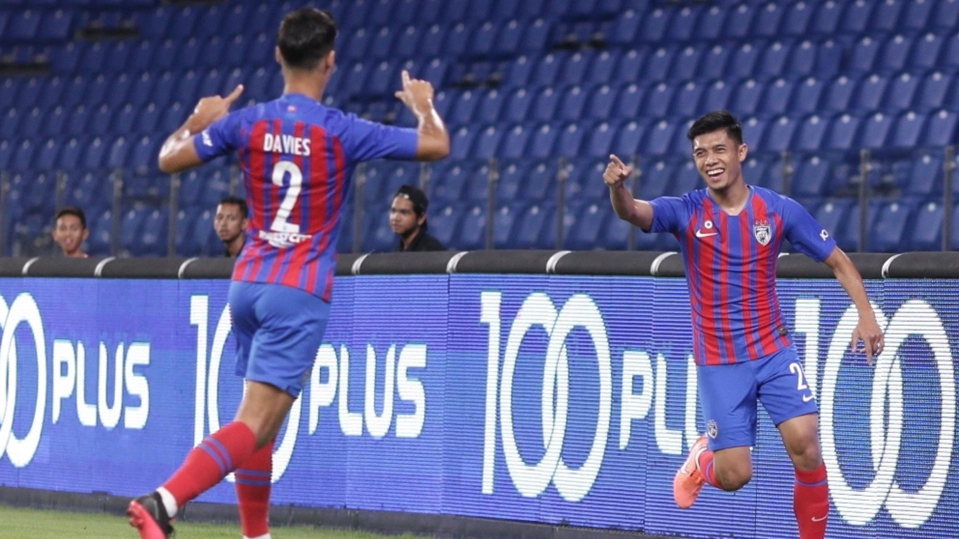 Syafiq Ahmad, Johor Darul Ta'zim, Super League, 14 Mar 2020