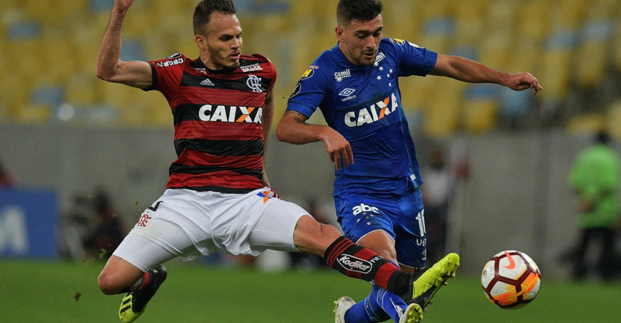 AFP Flamengo Cruzeiro Copa Libertadores 08082018 Giorgian De Arrascaeta