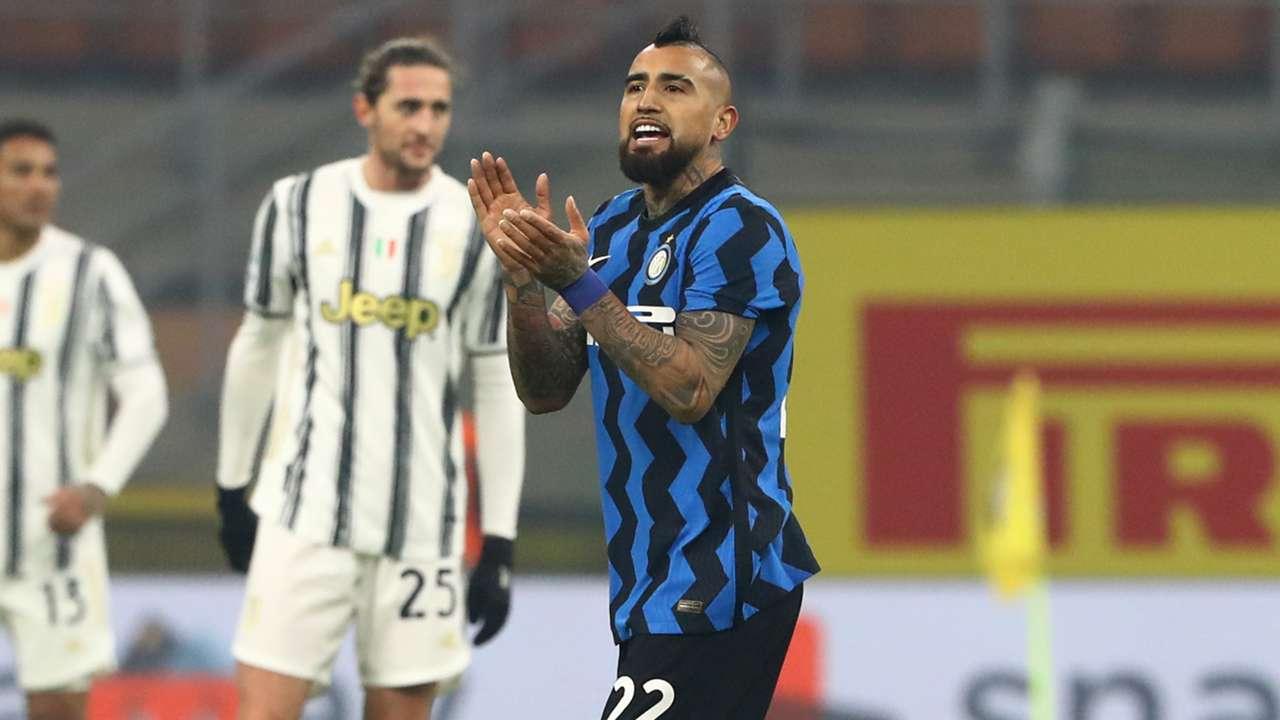 Arturo Vidal Inter Juventus 2020-2021