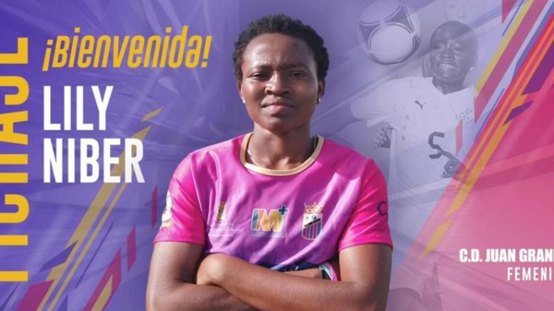Lily Niber-Lawrence: Ghana midfielder signs for Juan Grande