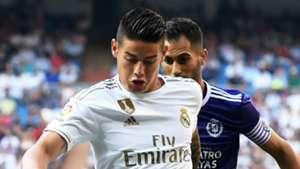 James Rodriguez Real Madrid 2019-20