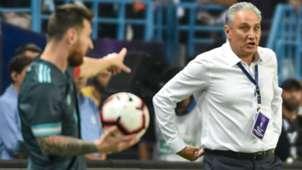 Messi Tite Brasil Argentina amistoso 15 11 2019
