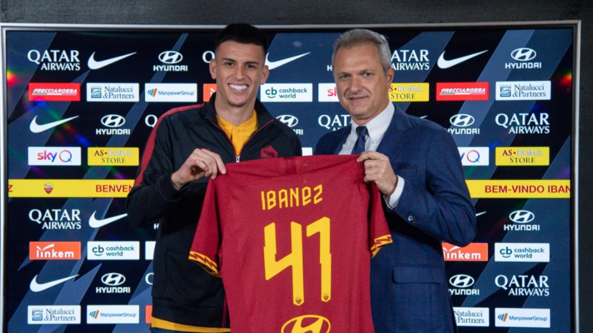 Roma announce Ibanez signing as defender arrives from Atalanta on loan