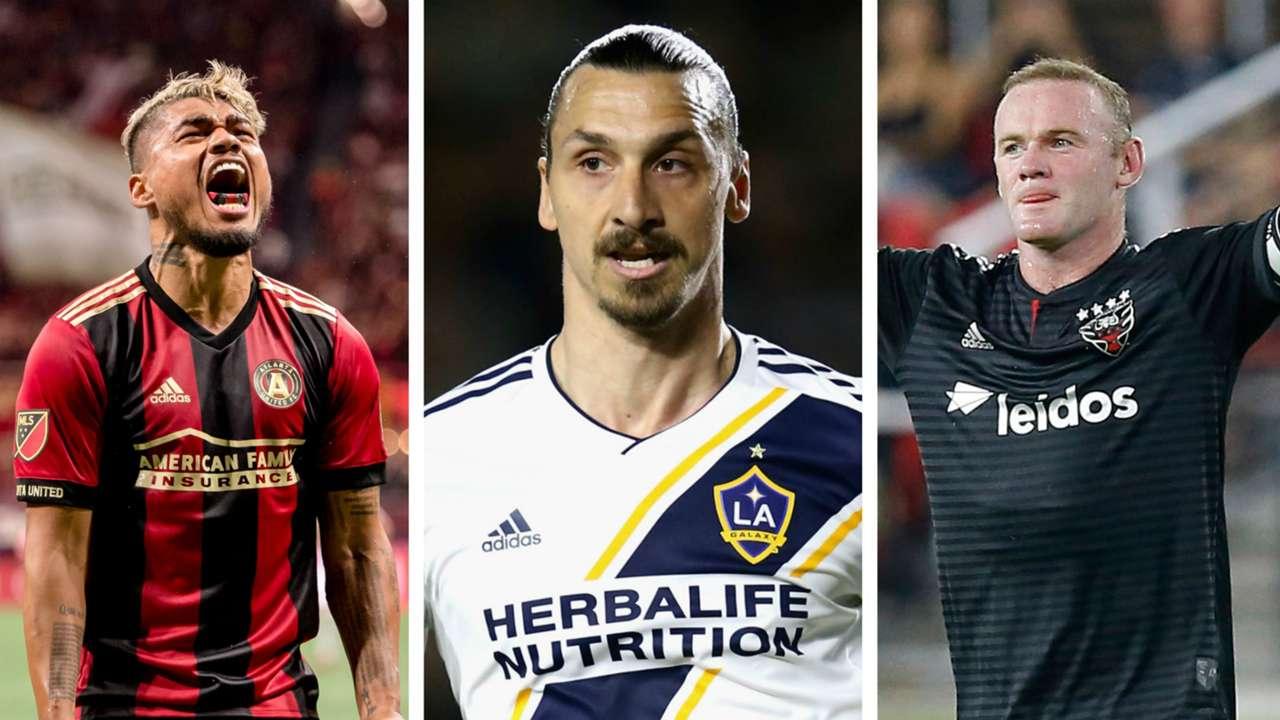 Top MLS Players Collage Zlatan Ibrahimovic 2019