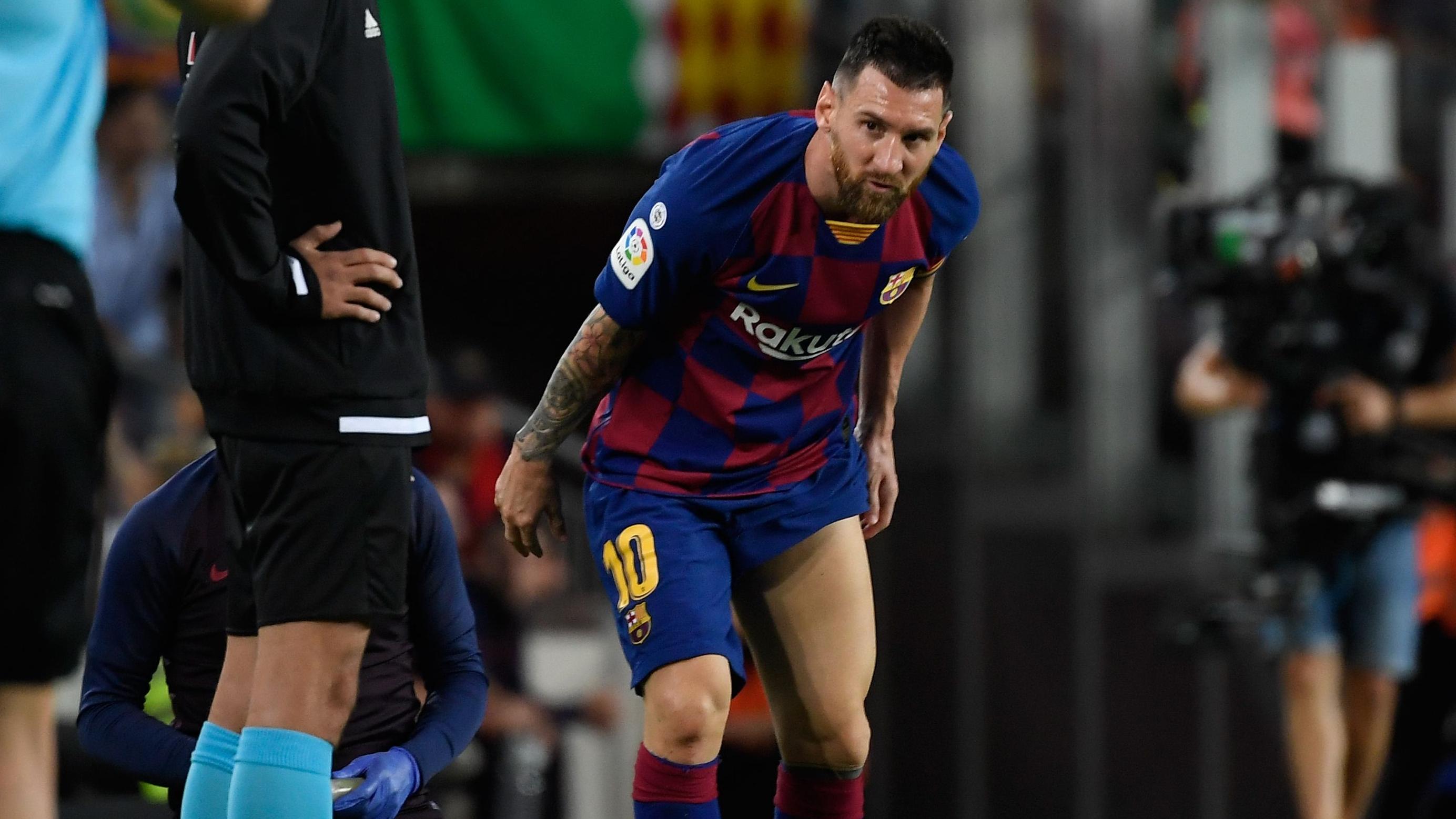 Image result for barcelona messi injury