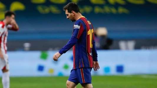 (Tin Barca) Messi bị treo giò 2 trận vì thẻ đỏ
