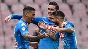 Allan Insigne Callejon Napoli Sassuolo Serie A