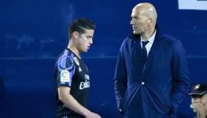 James Rodriguez & Zinedine Zidane