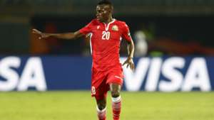 Philemon Otieno of Kenya during the 2019 Africa Cup of Nations Finals.