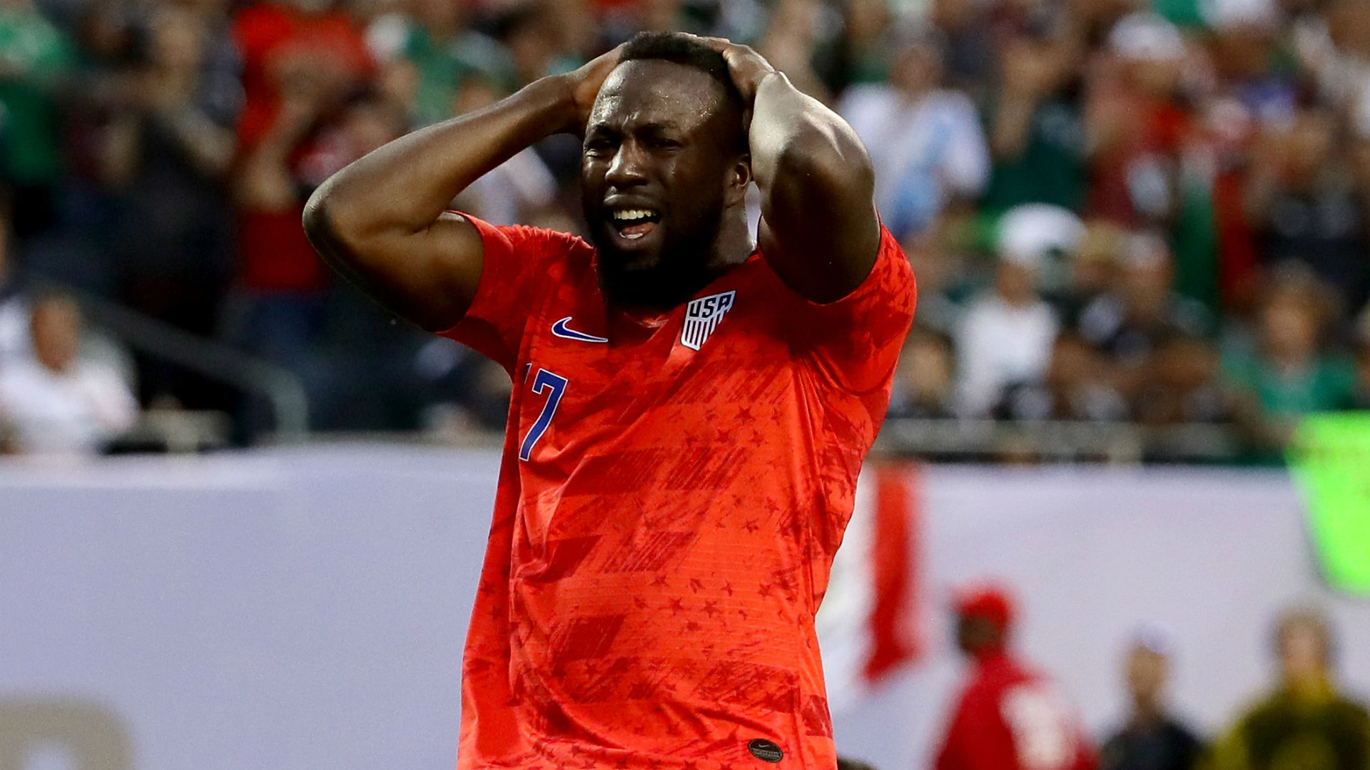 Jozy Altidore USA Mexico Gold Cup 2019