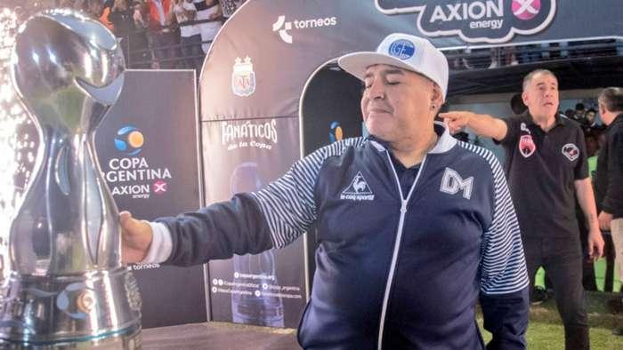 Diego Maradona Copa Argentina 25022020