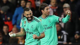 Karim Benzema Sergio Ramos Real Madrid