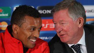 Luis Nani, Sir Alex Ferguson, Man Utd