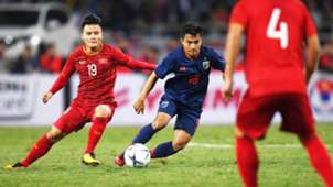 Nguyen Quang Hai vs Chanathip Songkrasin   Vietnam vs Thailand   World Cup 2022 qualification