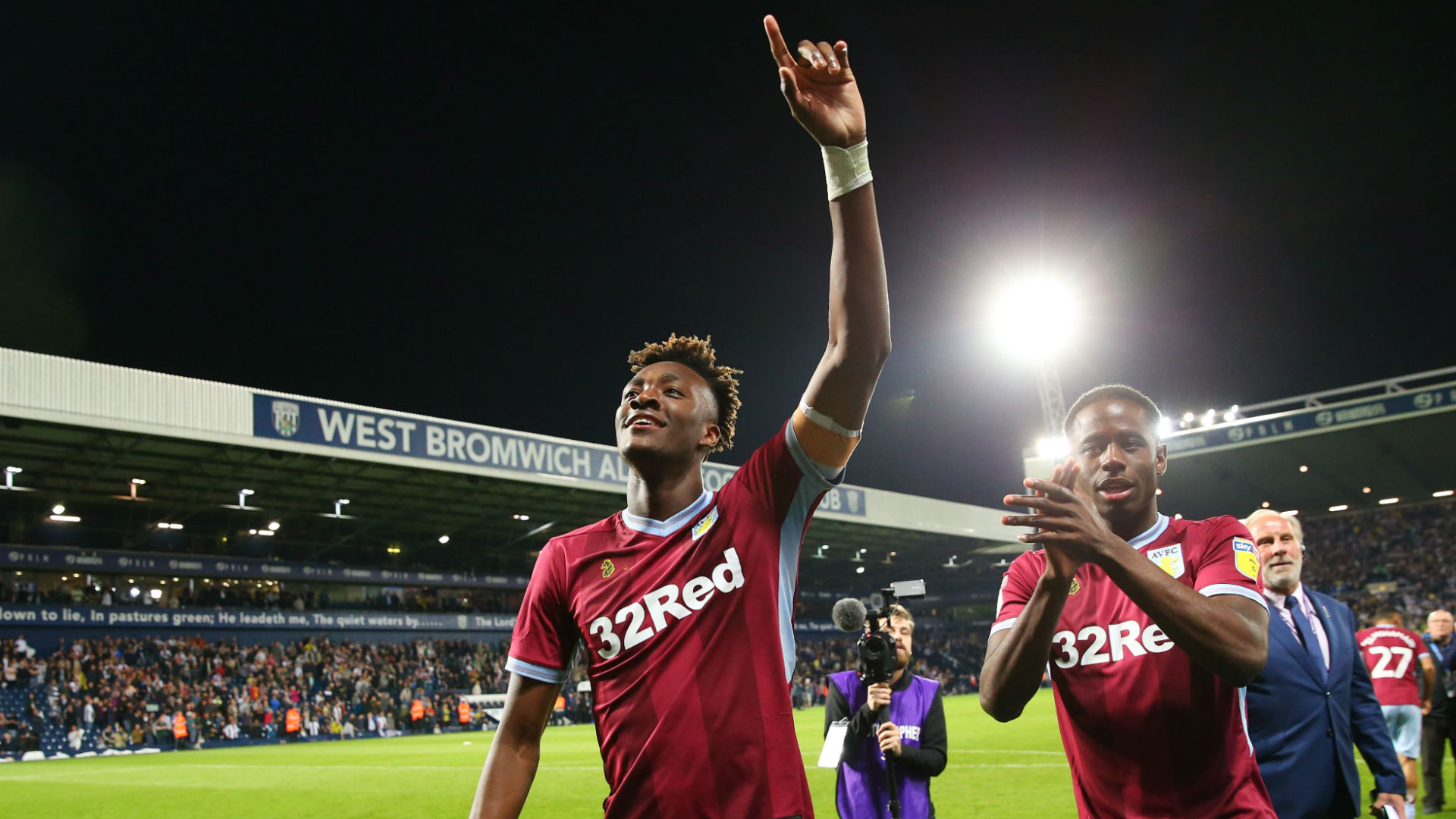 Departing Tammy Abraham I Could Not Have Asked For A Better Season At Aston Villa Goal Com