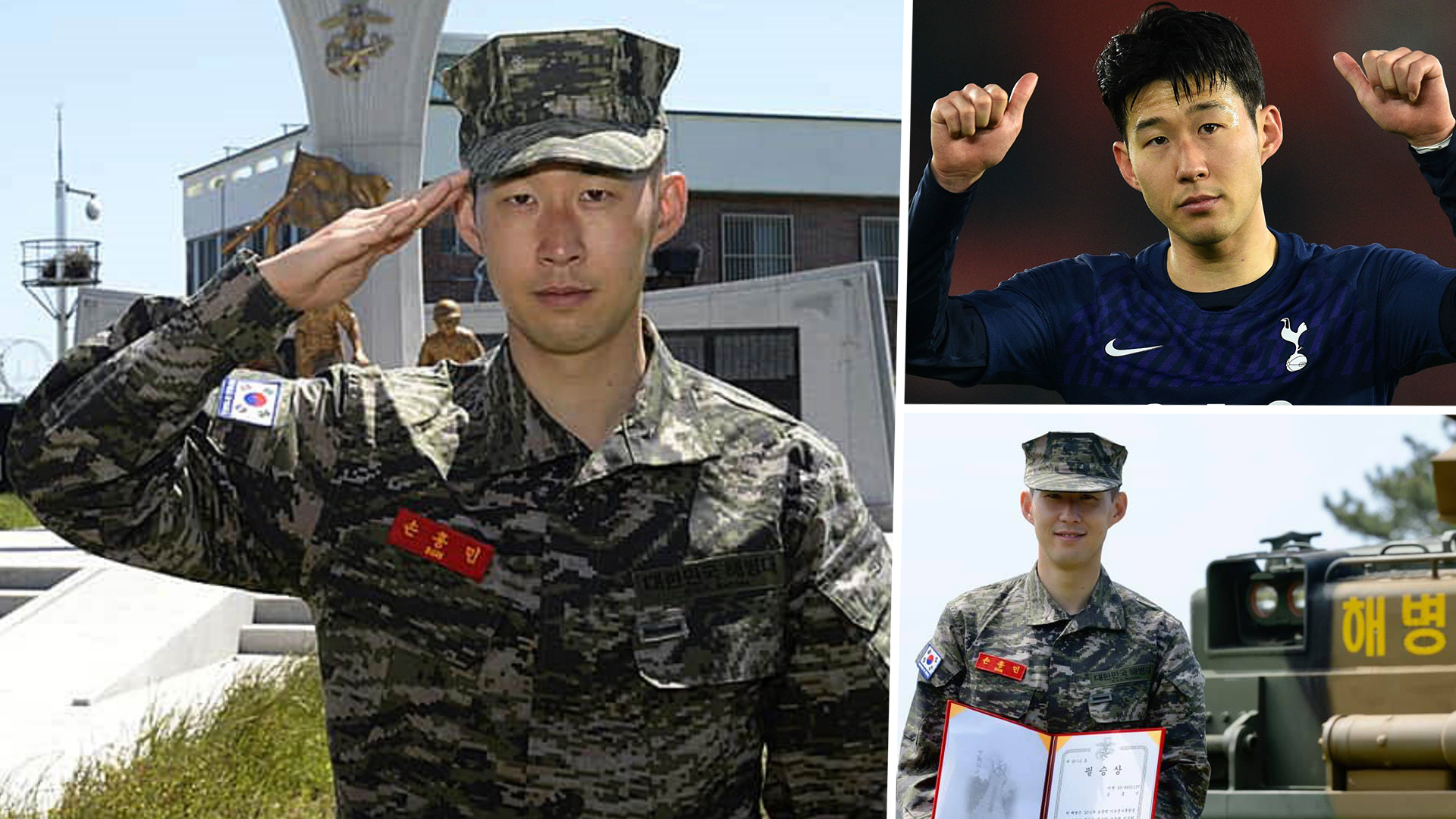 Tottenham Star Son Heung-min Has Completed Military Service (See Pictures)