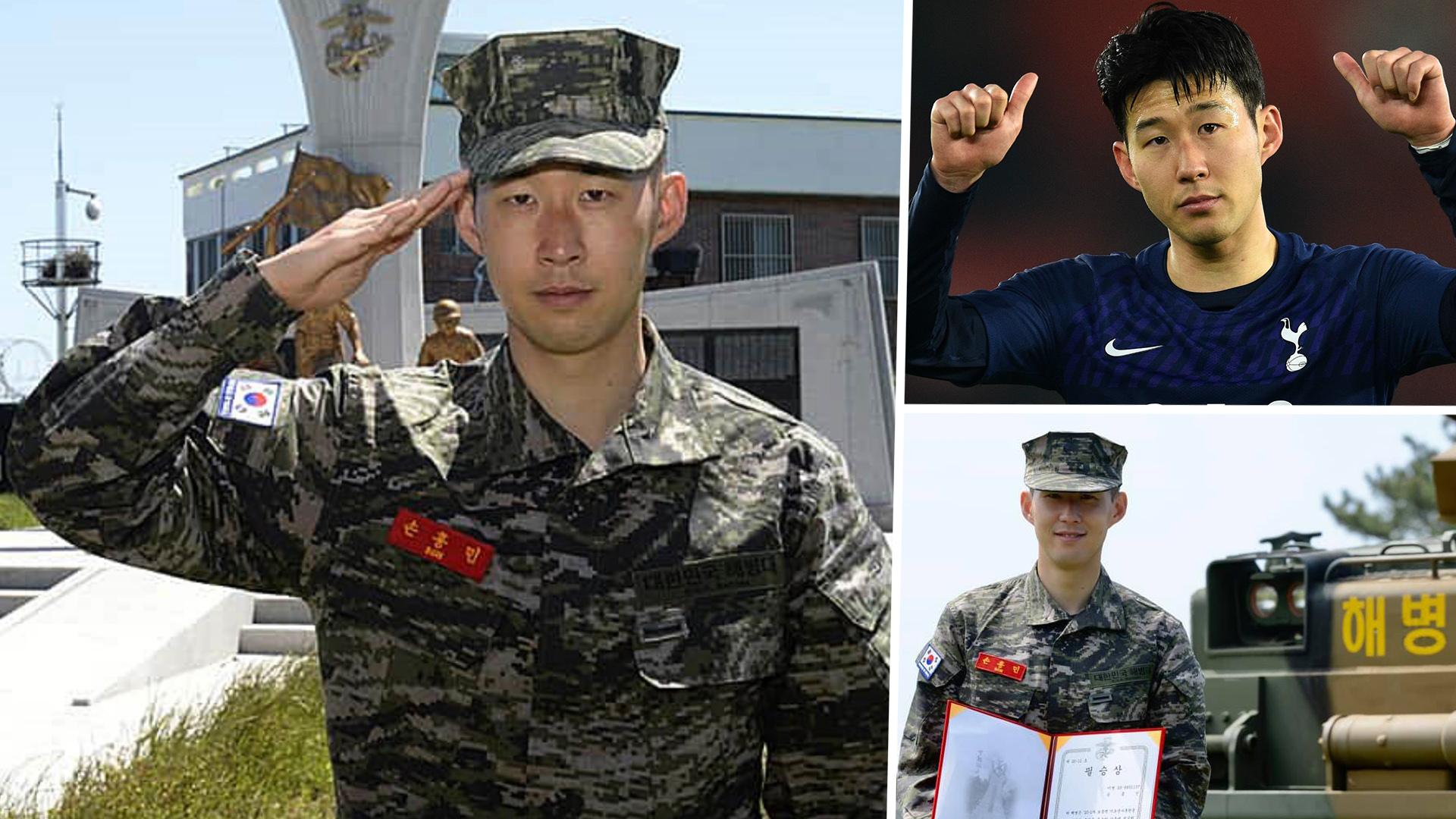 Tottenham Star Son Completes Mandatory Military Service In South Korea Goal Com