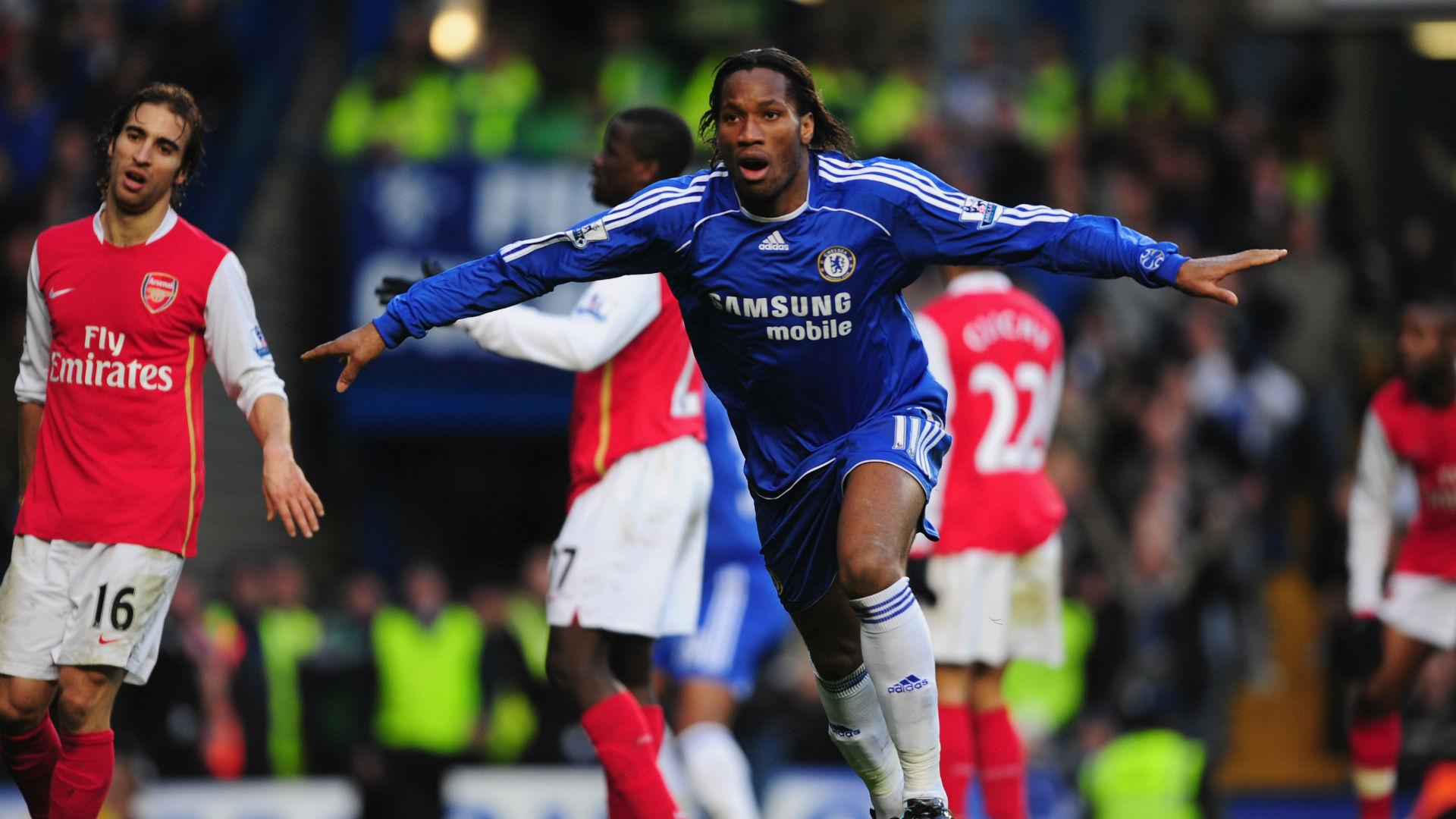 Didier Drogba Chelsea Arsenal