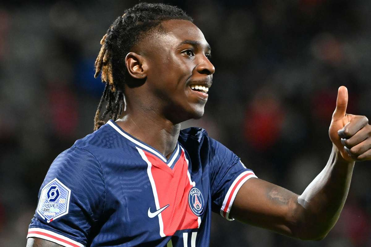 Kean Happy To Play Wherever The Coach Decides After First Psg Goals Goal Com