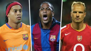 Ronaldinho Patrick Kluivert Dennis Bergkamp