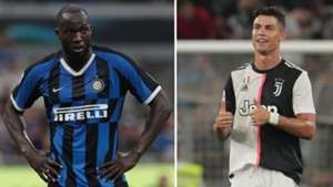Lukaku/Ronaldo split