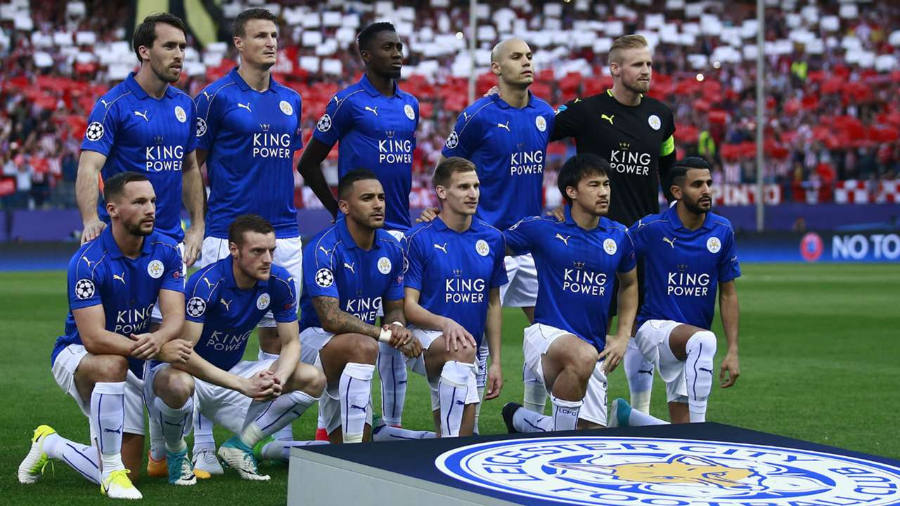 Leicester City line up