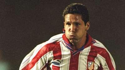 Diego Simeone Atletico Madrid 1995-96