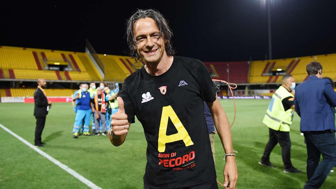 Filippo Inzaghi Benevento 2019-2020