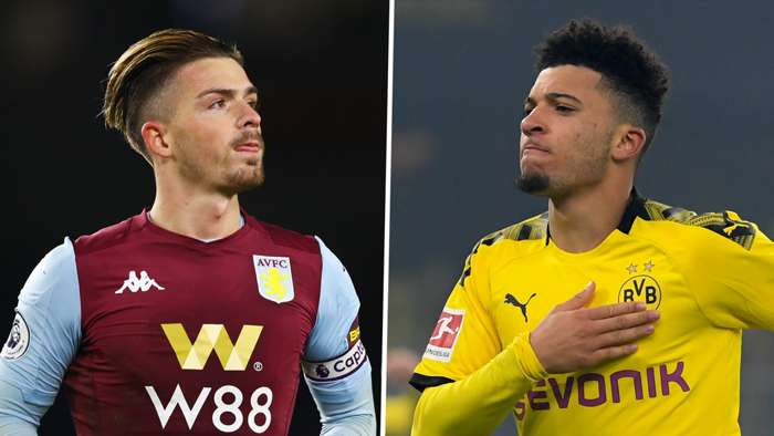 Jack Grealish, Jadon Sancho