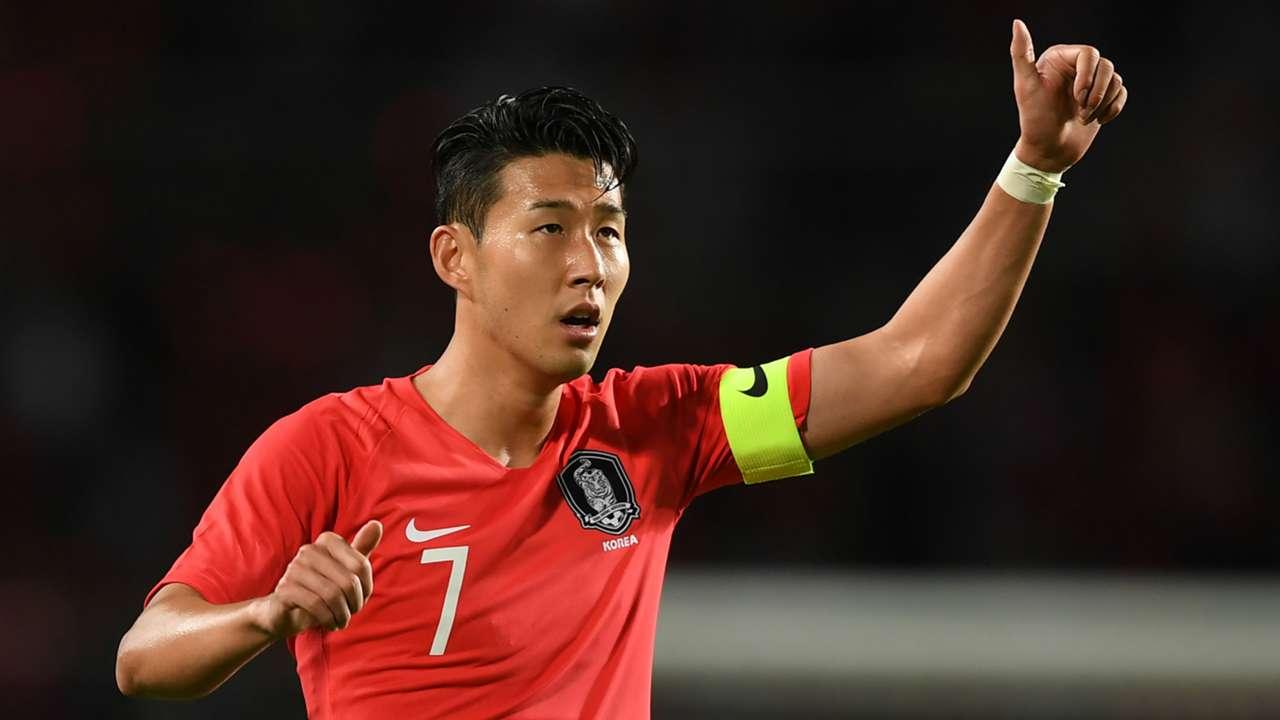 Son Heung-min South Korea 2018-19