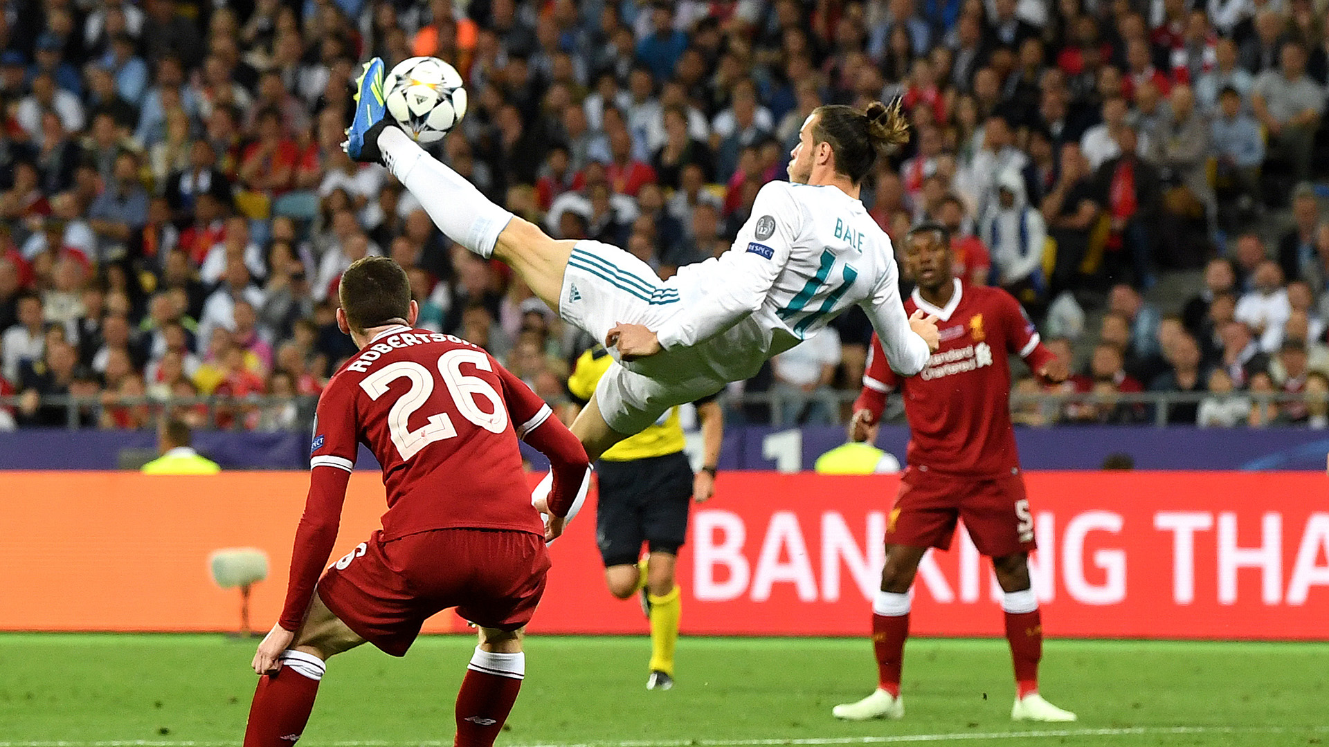 Gareth Bale overhead kick Real Madrid Liverpool Champions League final 260518