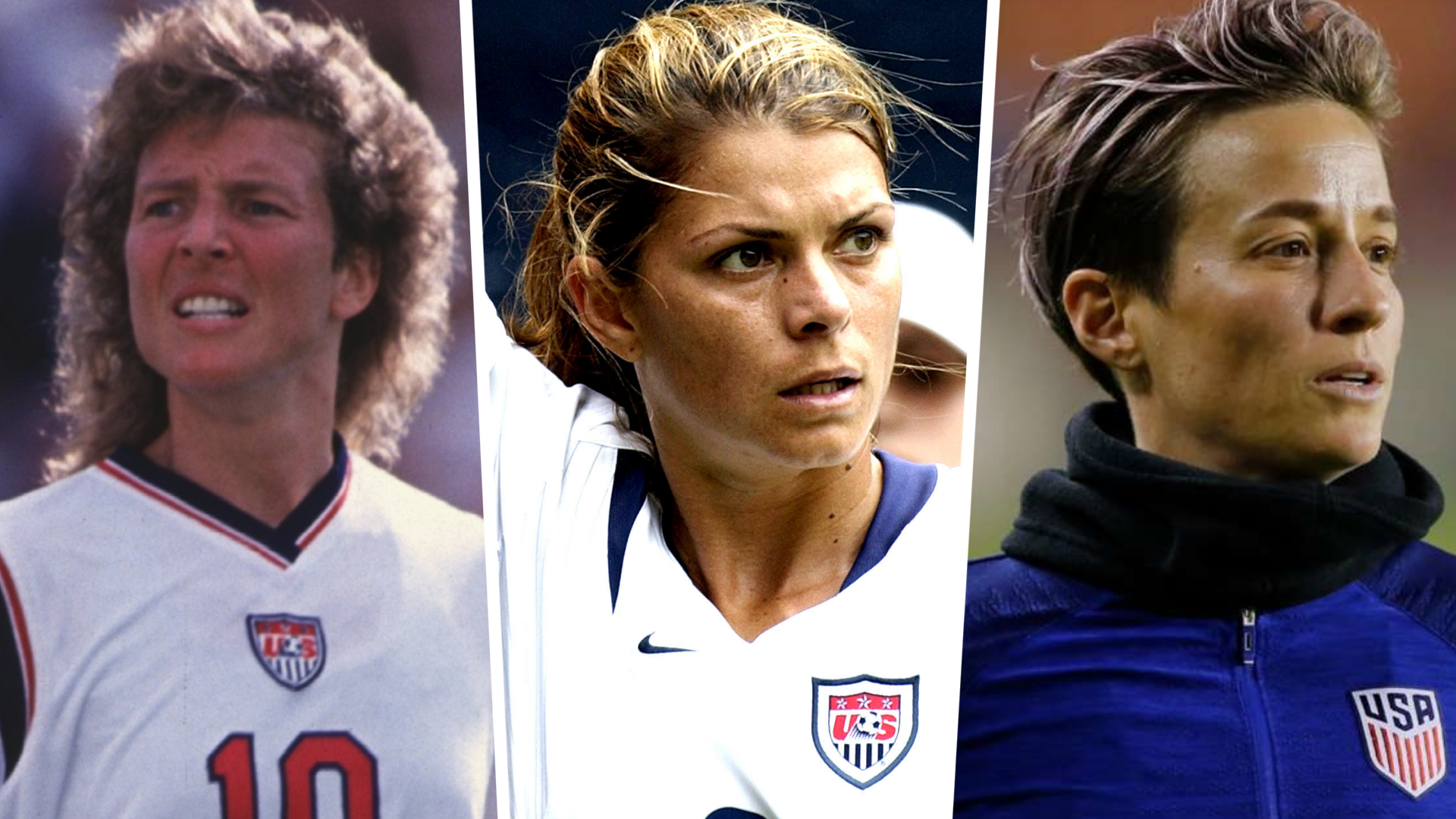 Hamm, Rapinoe, Akers and the 20 greatest USWNT players of all time