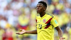 Yerry Mina Colombia Senegal WC Russia 28062018