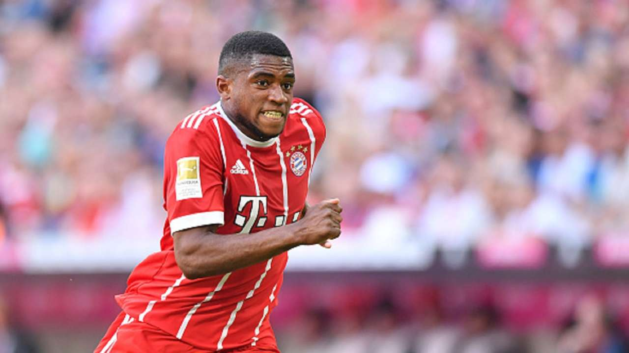 Franck Evina  Bayern Munich  Bundesliga debut 28 April 2018