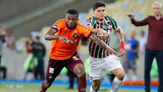 Ayrton Lucas Marcelo Cirino Fluminense Atlético-PR Copa Sudamericana 28112018