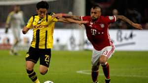 Vidal Kagawa Bayern Dortmund 2016