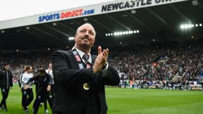 Rafael Benitez Newcastle coach