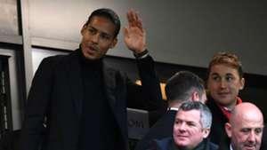 Virgil van Dijk Liverpool Leicester