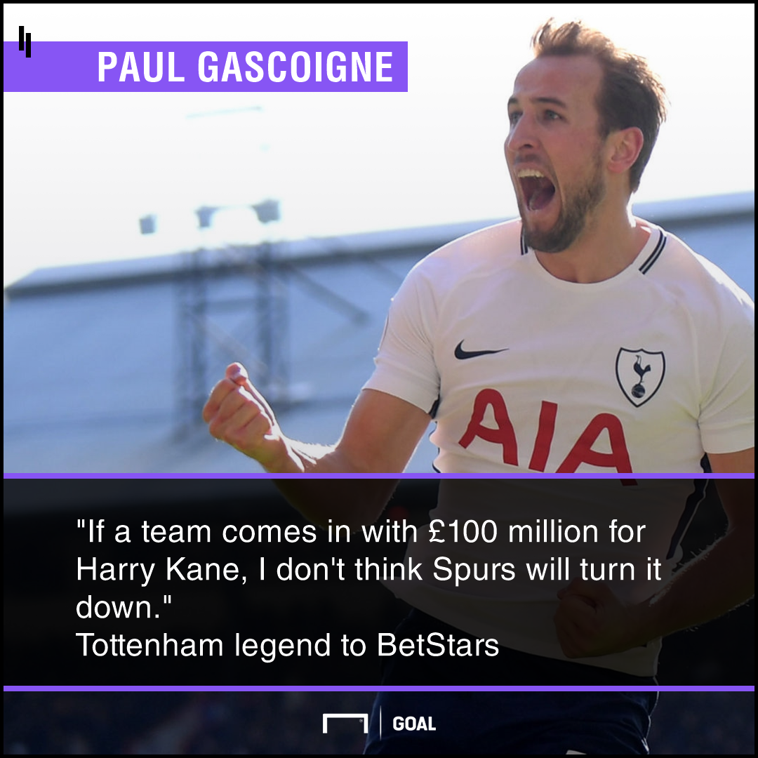 Harry Kane Tottenham would sell for 100m Paul Gascoigne