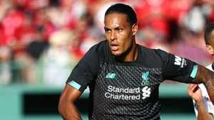 Virgil van Dijk Liverpool Sevilla